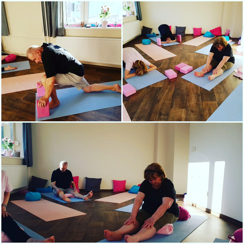 Senioren Yoga am Nachmittag